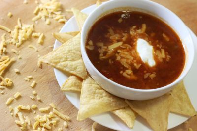 Not Your Mama's Tortilla Soup