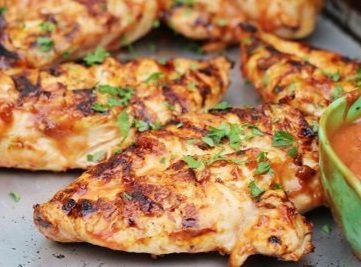 Summertime Grilling - Sweet & Spicy Chicken