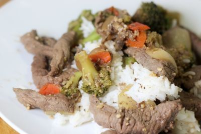 Szechwan Beef and Vegetables