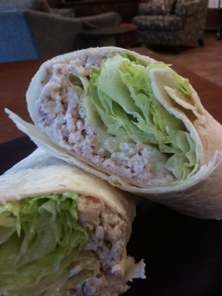 chicken salad wrap
